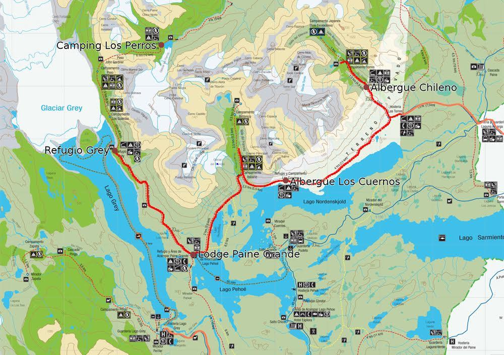 Circuito O Torres Del Paine : Circuito w de torres del paine todo lo que necesitas